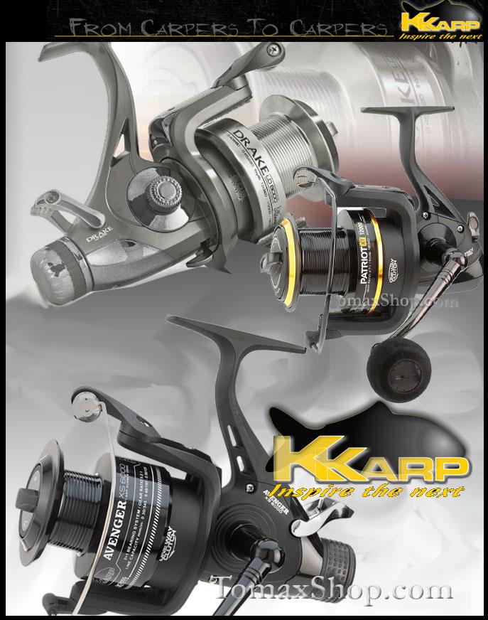 Макари за шаранджийски риболов K-Karp