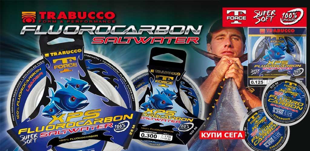 Trabucco T-Force XPS Fluorocarbon SW - Магазин за риболов TomaxShop