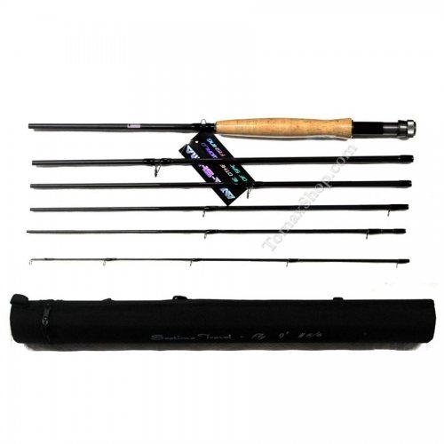 Травел мухарка AWAS SEPTIMA TRAVEL FLY 5/6 2.70m - 6 секции - Риболовни принадлежности TomaxShop ®