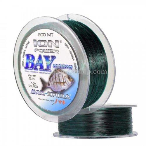 AWA-SHIMA ION POWER BAY SENSOR 500m, монофилно влакно - Риболовни принадлежности TomaxShop ®