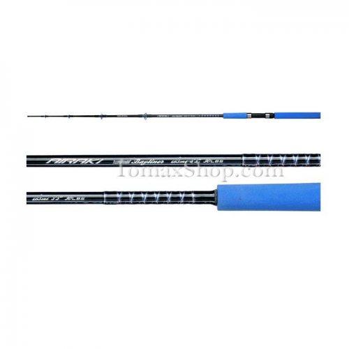 AWAS AIRAKI BLUE BAYLINER 50Lb 1.65m, въдица за риболов от лодка - Риболовни принадлежности TomaxShop ®