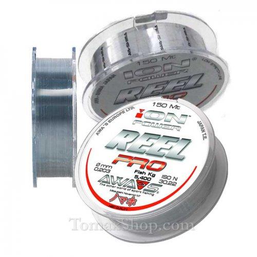 AWAS ION POWER REEL PRO 150m, монофилно влакно - Риболовни принадлежности TomaxShop ®