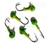 Джиг глави CAPTURE JIGHEAD ROUND GREEN - Риболовни принадлежности TomaxShop ®