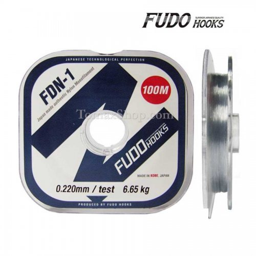 FUDO FDN-1 100m, монофилно влакно - Риболовни принадлежности TomaxShop ®