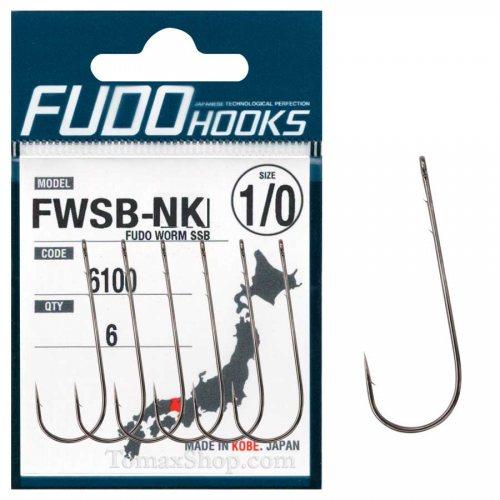 Куки FUDO WORM SSB 6100 NK - Риболовни принадлежности TomaxShop ®