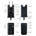 K-KARP PULSAR ADS BITE ALARM SET 3+1, сигнализатори със станция - Риболовни принадлежности TomaxShop ®