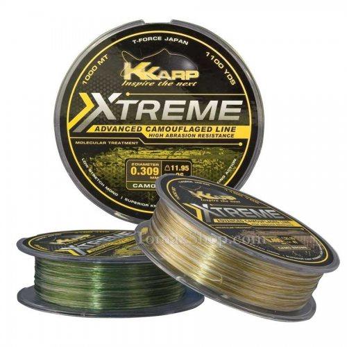 K-KARP XTREME CAMO 1000m, монофилно влакно - Риболовни принадлежности TomaxShop ®