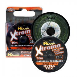 K-KARP XTREME STIFF SKIN FAST CAMOU GREEN 16m, плетено влакно