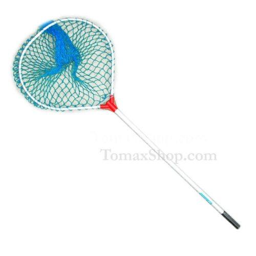 Риболовен кеп TOMAX FISHING EQUIPMENT 1.30м, сваляема глава, едра мрежа - Риболовни принадлежности TomaxShop ®