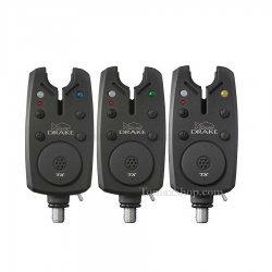 Комплект сигнализатори със станция K-KARP DRAKE XT BITE ALARM SET 3+1