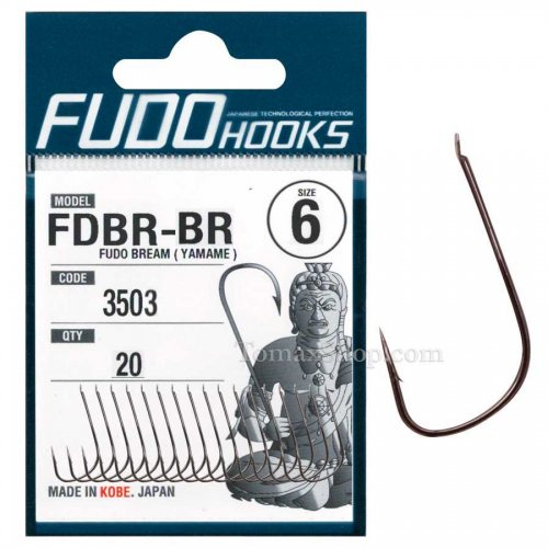 Куки FUDO BREAM (YAMAME) 3503 BR - Риболовни принадлежности TomaxShop ®