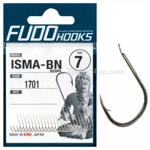 Куки FUDO ISEAMA 1701 BN - Риболовни принадлежности TomaxShop ®