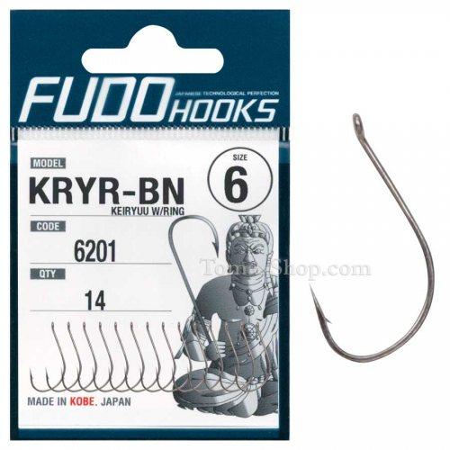 Куки FUDO KEIRYUU W/RING 6201 BN - Риболовни принадлежности TomaxShop ®