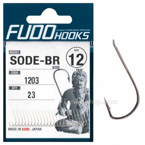 Куки FUDO SODE 1203 BR - Риболовни принадлежности TomaxShop ®