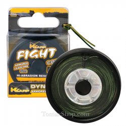 Лийдкор K-KARP DYNA TEX FIGHT CORE WEEDY GREEN 5m.