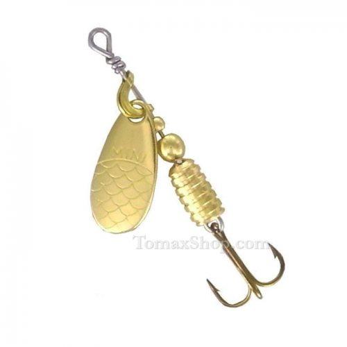 MAPSO MINI METAL * ORO, въртяща блесна - Риболовни принадлежности TomaxShop ®