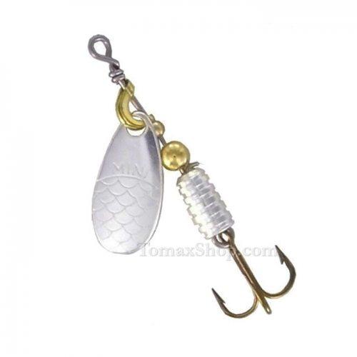 MAPSO MINI METAL * PLATA, въртяща блесна - Риболовни принадлежности TomaxShop ®