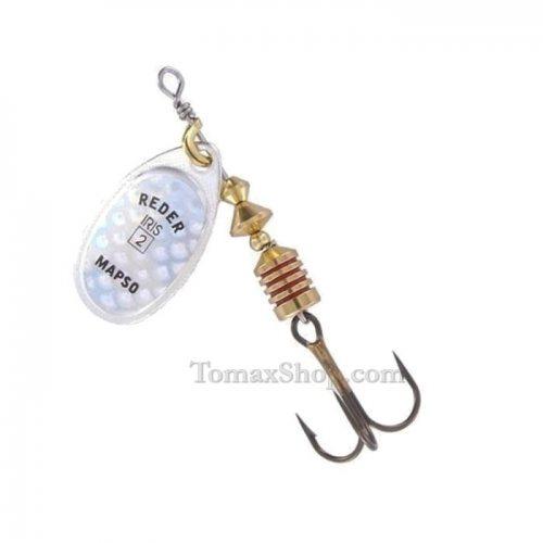 MAPSO REDER IRIS * PM, въртяща блесна - Риболовни принадлежности TomaxShop ®