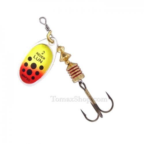MAPSO REDER LUN COL * PAR-L, въртяща блесна - Риболовни принадлежности TomaxShop ®