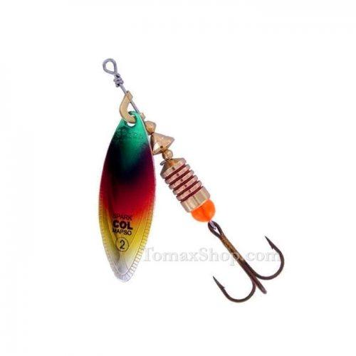 MAPSO SPARK COL * PARV, въртяща блесна - Риболовни принадлежности TomaxShop ®