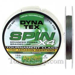 RAPTURE DYNA TEX SPIN X4 MOSS GREEN 100m, плетено влакно