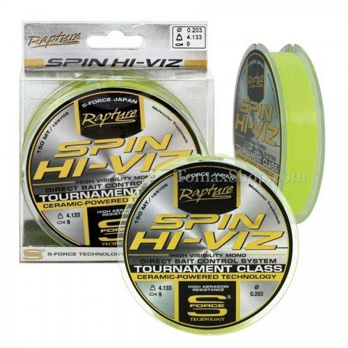 RAPTURE SPIN HI-VIZ 150m, монофилно влакно - Риболовни принадлежности TomaxShop ®