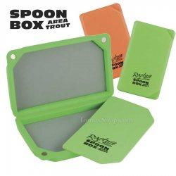 RAPTURE SPOON BOX AREA TROUT, плаваща кутия за блесни