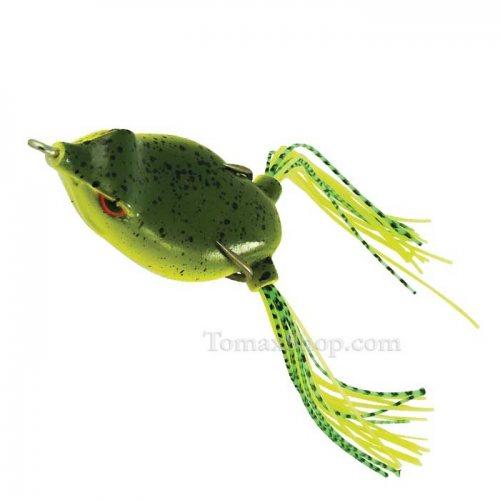Силиконова жабка RAPTURE DANCER FROG NATURAL WEED 4.5см - Риболовни принадлежности TomaxShop ®
