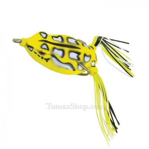 Силиконова жабка RAPTURE DANCER FROG YELLOW 5.5см - Риболовни принадлежности TomaxShop ®