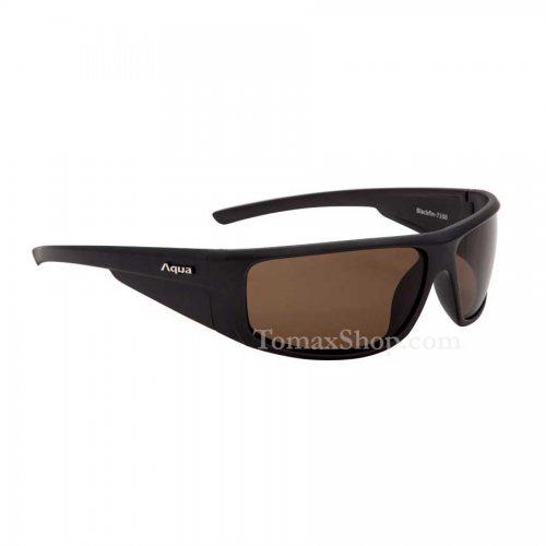 Слънчеви очила AQUA BLACKFIN BLACK MATT - Риболовни принадлежности TomaxShop ®