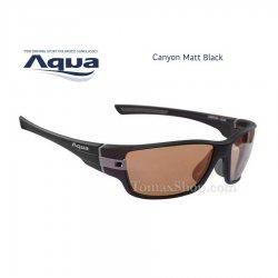 Слънчеви очила AQUA CANYON BLACK MATT B