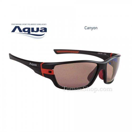 Слънчеви очила AQUA CANYON BLACK MATT R - Риболовни принадлежности TomaxShop ®