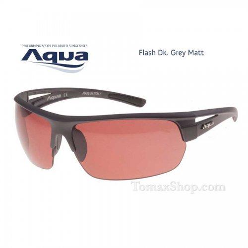 Слънчеви очила AQUA FLASH GREY MATT - Риболовни принадлежности TomaxShop ®
