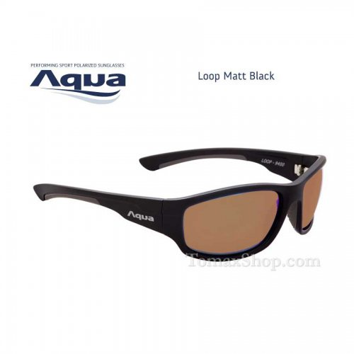 Слънчеви очила AQUA LOOP MATT BLACK - Риболовни принадлежности TomaxShop ®