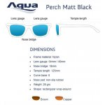 Слънчеви очила AQUA PEARCH MATT BLACK - Риболовни принадлежности TomaxShop ®