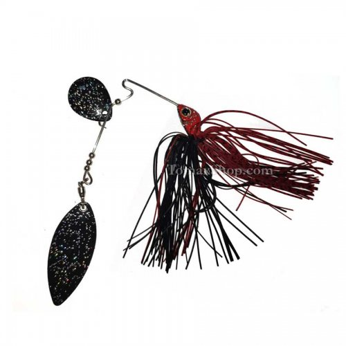 Спинърбайт ALPHA TOGA LIVE IMPRESS BLACK & RED TYPE-2 - Риболовни принадлежности TomaxShop ®