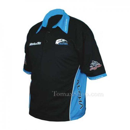 Спортна тениска с яка ALPHA POLO SHIRT - Риболовни принадлежности TomaxShop ®