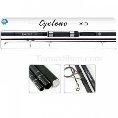 TRABUCCO CYCLONE X3 CARP 3Lbs. 12ft. 3.60m., шаранджийска въдица, 3 части - Риболовни принадлежности TomaxShop ®