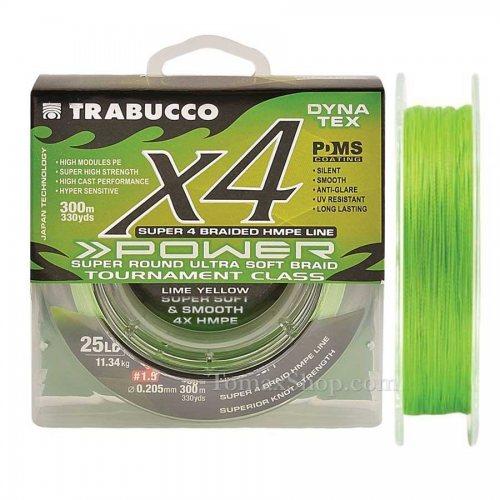 TRABUCCO DYNA TEX X4 POWER UV 150m, плетено влакно - Риболовни принадлежности TomaxShop ®