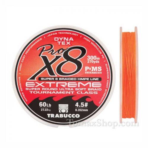 TRABUCCO DYNA TEX X8 EXTREME PRO 300m., плетено влакно - Риболовни принадлежности TomaxShop ®