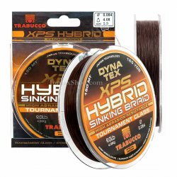 TRABUCCO DYNA TEX XPS HYBRID SINKING BRAID 150m., плетено влакно