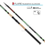 TRABUCCO FLARE T-MATCH ALLROUND 20gr. 4.00m., телемач въдица - Риболовни принадлежности TomaxShop ®