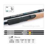 TRABUCCO INSPIRON FD DISTANCE CARP 90gr. 3.90m., фидер въдица - Риболовни принадлежности TomaxShop ®