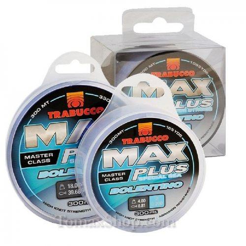 TRABUCCO MAX PLUS BOLENTINO 300m, монофилно влакно - Риболовни принадлежности TomaxShop ®
