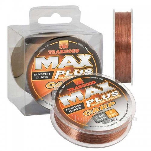 Монофилно влакно TRABUCCO MAX PLUS CARP 300m - Риболовни принадлежности TomaxShop ®
