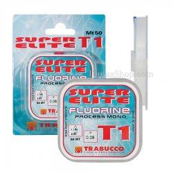 TRABUCCO SUPER ELITE T1 FLUORINE 50m, монофилно влакно