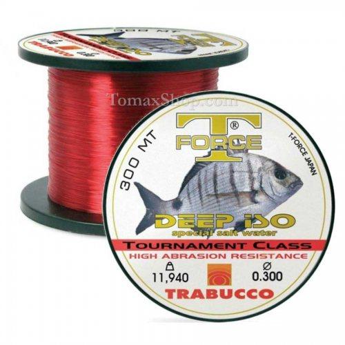 Монофилно влакно за морски риболов TRABUCCO T-FORCE DEEP ISO 600m - Риболовни принадлежности TomaxShop ®