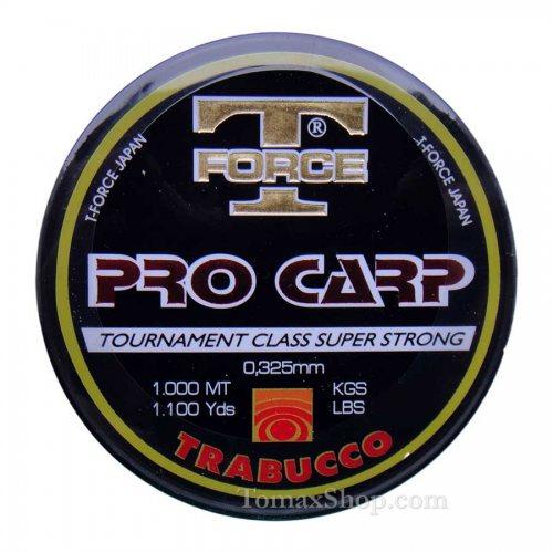 TRABUCCO T-FORCE PRO CARP 1000m, монофилно влакно - Риболовни принадлежности TomaxShop ®