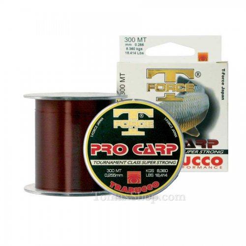 TRABUCCO T-FORCE PRO CARP 300m, монофилно влакно - Риболовни принадлежности TomaxShop ®