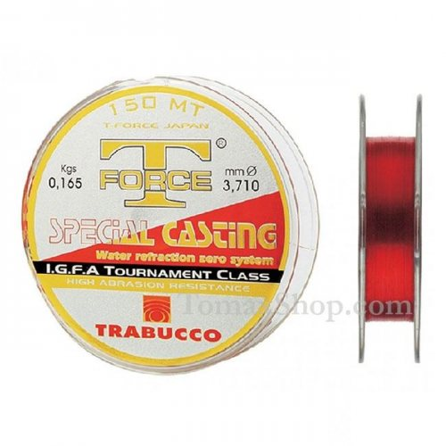 TRABUCCO T-FORCE SPECIAL CASTING 150m, монофилно влакно - Риболовни принадлежности TomaxShop ®